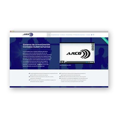 Sitio web - Arco