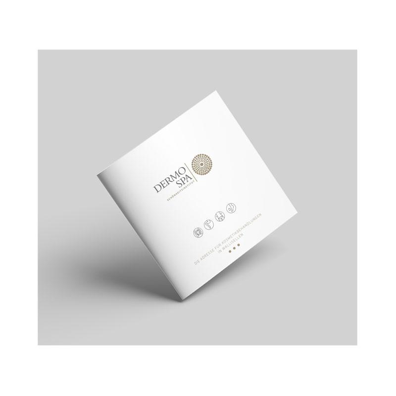 Diseño de brochure — Dermo Spa