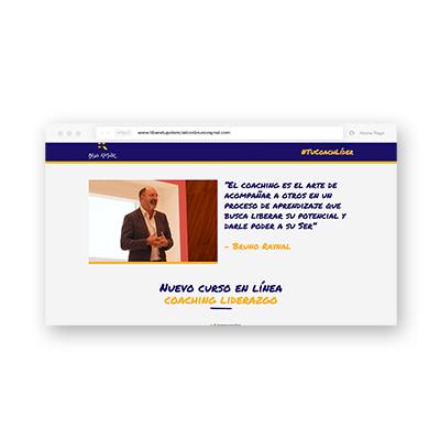 Landing page - Bruno Raynal