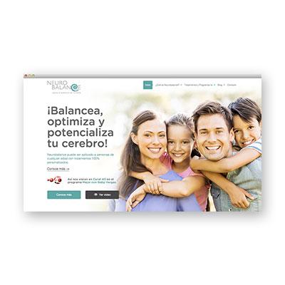 Sitio Web Neurobalance